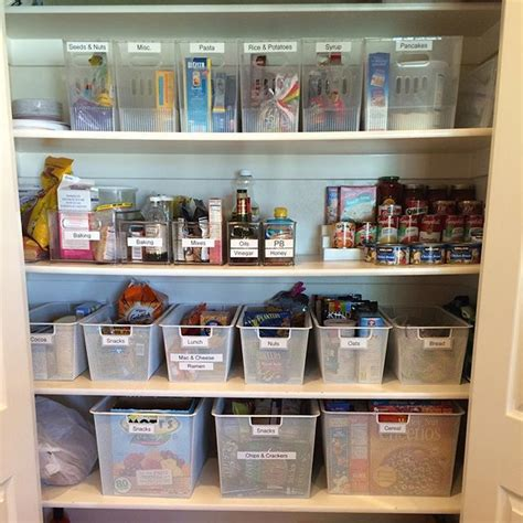 How To Organize Food In Kitchen Cabinets 25 Best Ideas About Organize Food Pantry On Kitchen Pantry Storage Organized