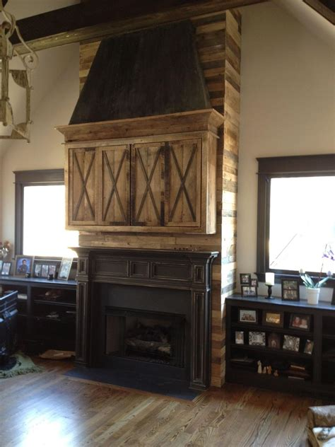 Handmade Fireplaces - handmade fireplace installation mantle media cabinet