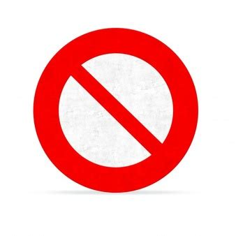 Big Size Kaos No Road No Problem forbidden sign icons free