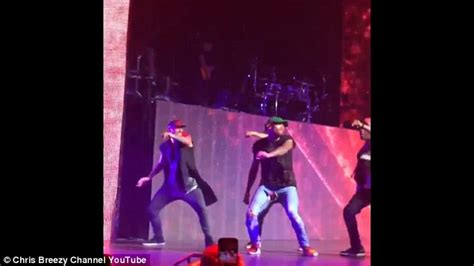 Chris Brown Wardrobe by Chris Brown Rips His Onstage In
