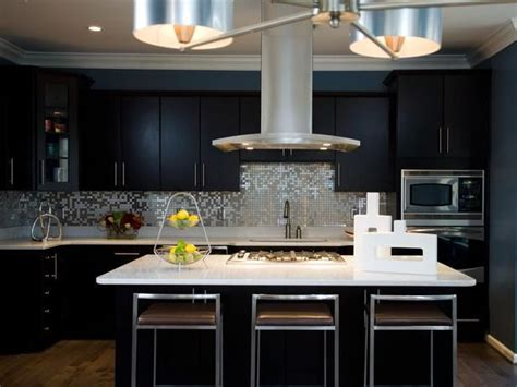 black white silver kitchen ideas brushed aluminum chandelier silestone countertops made with crushed pieces of mirror in it a