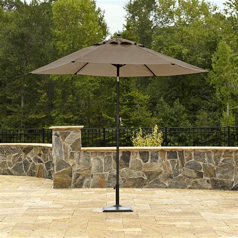 Garden Oasis Harrison 9 Patio Umbrella Outdoor Living Kmart Patio Umbrellas