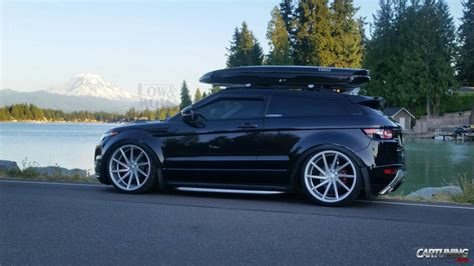 range rover evoque modified stanced range rover evoque true fitment