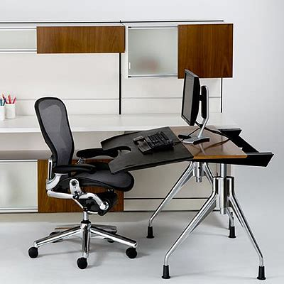 stamford office furniture envelop desk by herman miller
