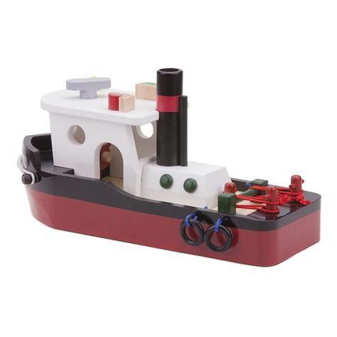 sleepboot houten houten sleepboot kopen qiddie