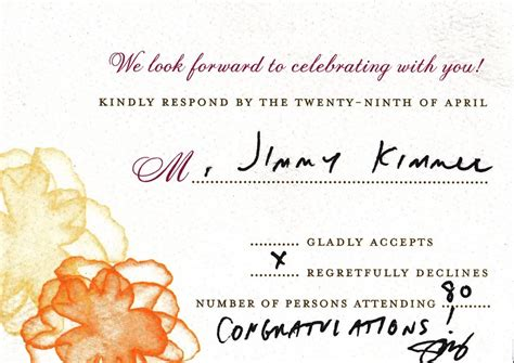 wedding invitation respond by inviting to their weddings and proms business insider
