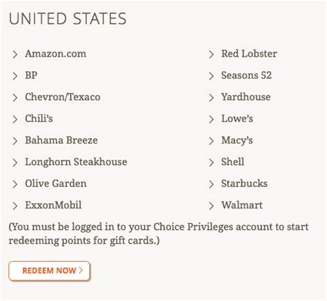 Choice Hotels Gift Cards - choice hotels 50 gift card promotion points miles martinis