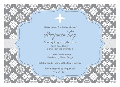 baptism invitations templates christening invitations templates free images