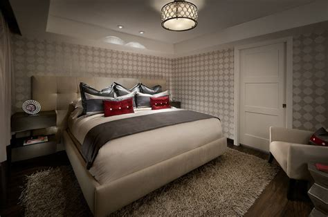 bedroom with luxury vinyl plank flooring contemporary bedroom phoenix by longust