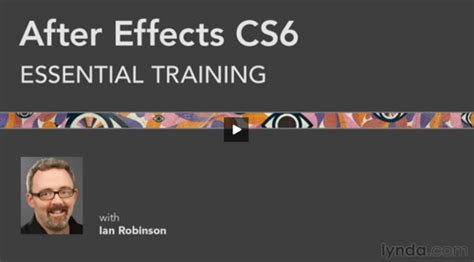 lynda 3d typography in after effects dairy products after effects cs6 essential training 10 day free access