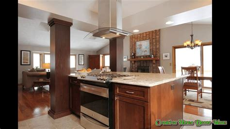 kitchen stove island kitchen island with slide in stove