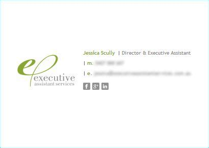 Quot Email Signature Rescue Is A Great Tool And Has Allowed Me To Present A Professional And Branded Executive Assistant Email Templates
