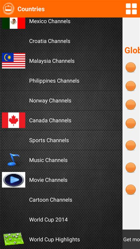 live tv global tv amazing free live tv app for android 2017 free