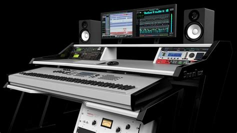 home studio workstation desk studiodesk empower your creativity workstation you