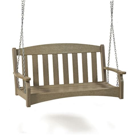 swinging benches breezesta skyline 60 quot swinging bench gotta have it inc