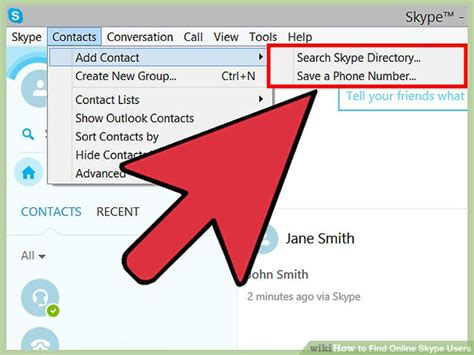Search Skype Users By Email How To Find Skype Users 11 Steps With Pictures