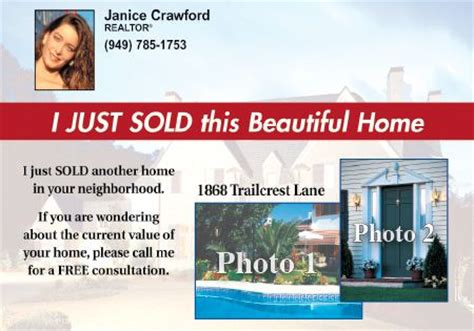 real estate just sold flyer templates just sold postcard in days pictures inspirational pictures