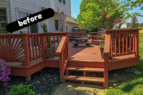 Diy Backyard Deck Ideas by Deck Cover Backyard Deck Ideas Our Deck Makeover