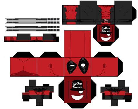 Deadpool Papercraft - deadpool wade winston wilson by droctarobertson