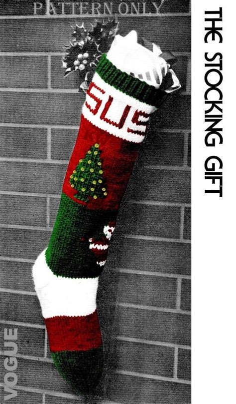 patterns for vintage christmas stockings 458 best images about christmas crochet and knitting on