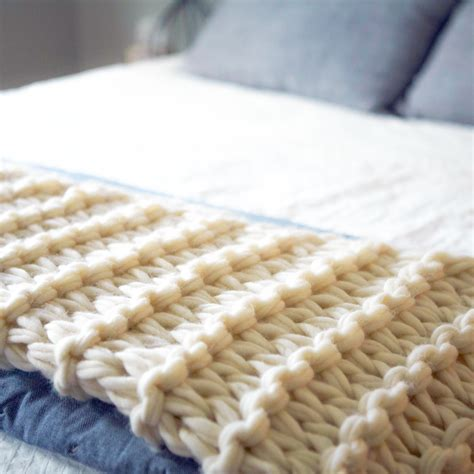 how do you knit a blanket arm knit blanket tutorial and giveaway flax twine