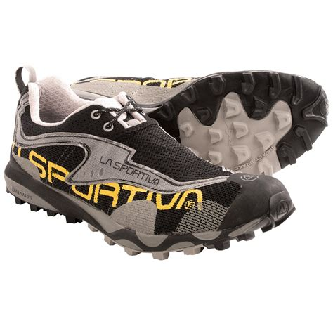 la sportiva trail running shoe reviews la sportiva c lite trail running shoes for in black