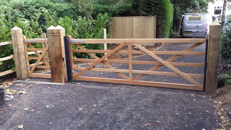 wooden swing gate wooden and timber gate gallery security railings
