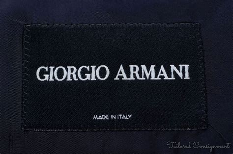Labels For Armani by Giorgio Armani Black Label 100 Wool Mens Blazer Sport