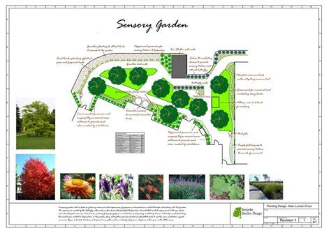 landworkscad bespoke garden design sensory garden