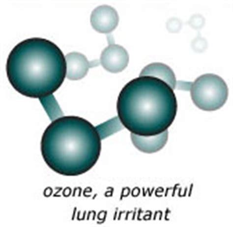 ozone a powerful lung irritant