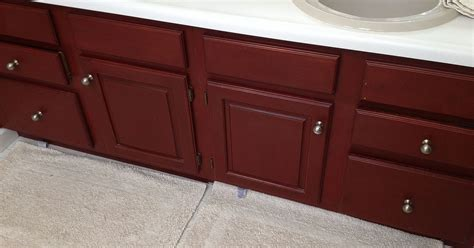 updating bathroom cabinets hometalk