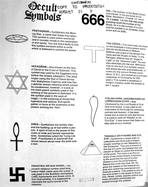 Masonic And Occult Symbol