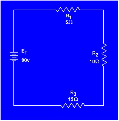 where are resistors found for series dc circuits