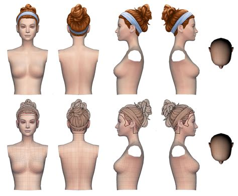 Hairstyle Preview by The Sims 4 Laundry Day New Hairstyles Preview