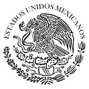 escudo alimenticio para pintar escudo de m 233 xico para colorear