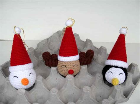 christmas crochet free ornament pattern thread crochet