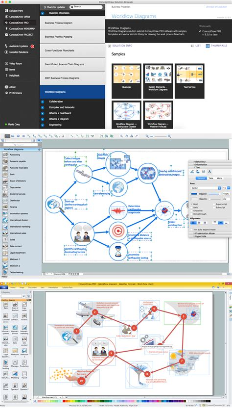 create workflows create workflow diagram features to draw diagrams faster
