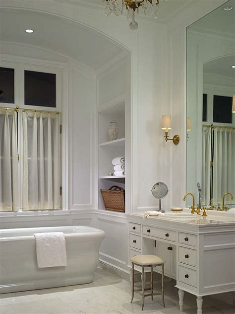 Classic Bathroom Designs White Bathroom Interior Design Luxury Interior Design