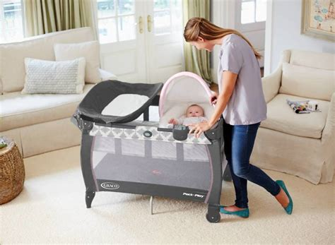 Pack And Play With Bassinet And Changing Table Small Graco Pack N Play With Bassinet And Changing Table Recomy Tables Graco Pack N