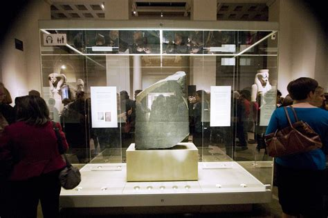 rosetta stone museum no the british museum did not just publish the first 3d