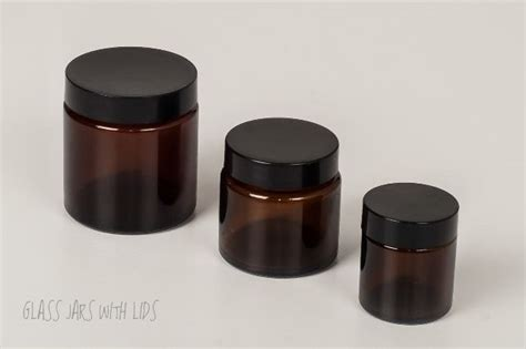 Rustic Home Decor Wholesale Cosmetic Amber Glass Jars 30ml Glass Amber Cosmetic Jars