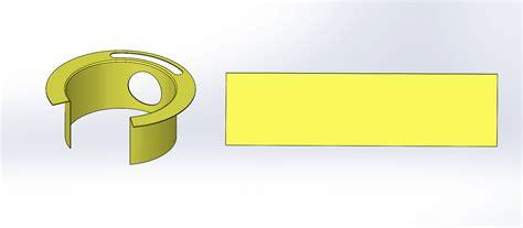 solidworks flat pattern solidworks 2016 sheet metal swept flange enhancement