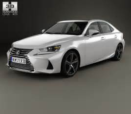 Lexus On 30s Lexus Is Xe30 350 2016 3d Model Hum3d