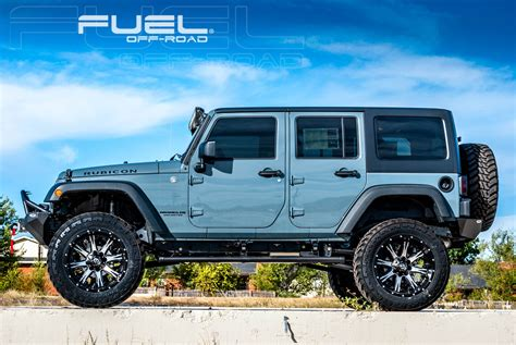 jeep fuel wheels this jeep wrangler with fuel wheels has some nutz wheelhero