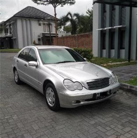 mercy c180 bekas tahun 2002 silver transmisi matic ori harga murah yogyakarta dijual
