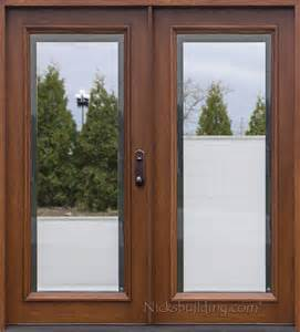Lowes Add On Blinds Exterior Double Doors Solid Mahogany Wood Double Doors