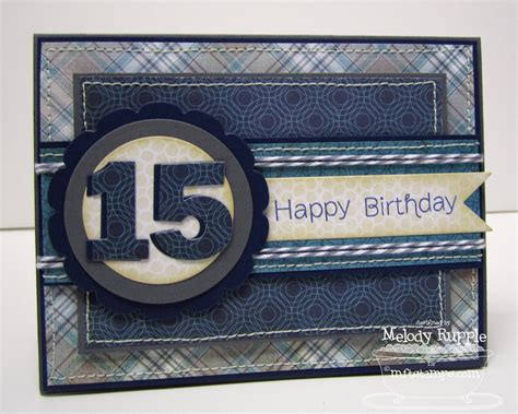 Happy 15th Birthday Cards A Paper Melody Mftwsc56 Happy 15th Birthday