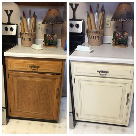 Distressed Painted Kitchen Cabinets by 1000 Images About Ideas For Repainting Projects On