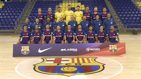 equipo futbol sala barcelona f 250 tbol sala fc barcelona