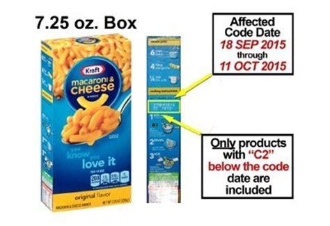 Mac N Cheese Kraft kraft recalls 6 5 million boxes of macaroni cheese after